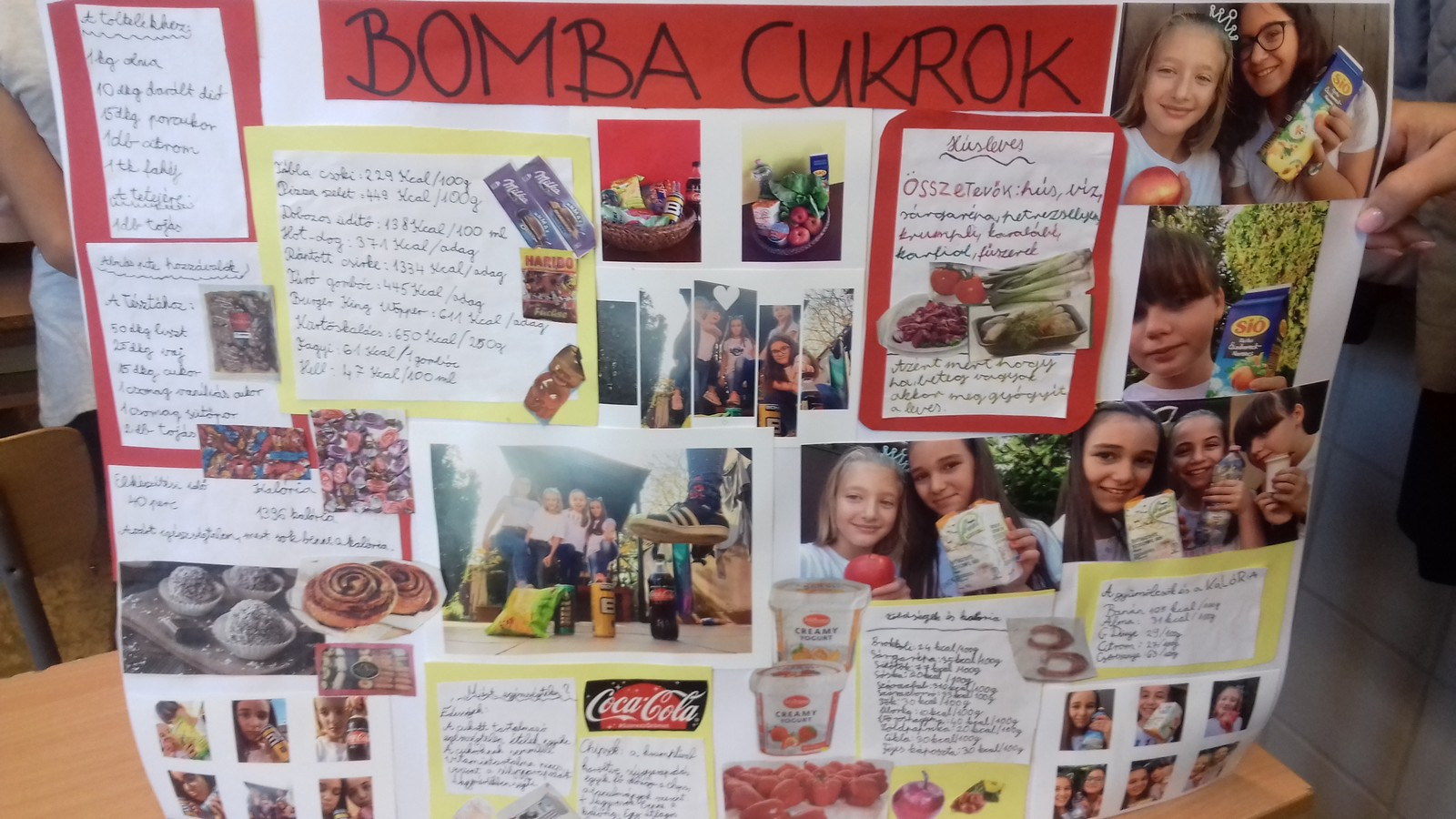 5/b Bomba cukrok