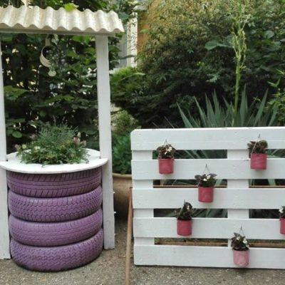 7/b Kerti bútorok újrahasznosított anyagokból